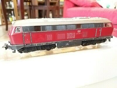 Ben Informato Marklin 216025-7 Colore Rosso Locomotiva Scala H0 Made In Germany Ineguale Nelle Prestazioni