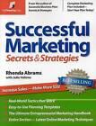 Successful Marketing: Secrets & Strategies by Rhonda Abrams (Paperback / softback)
