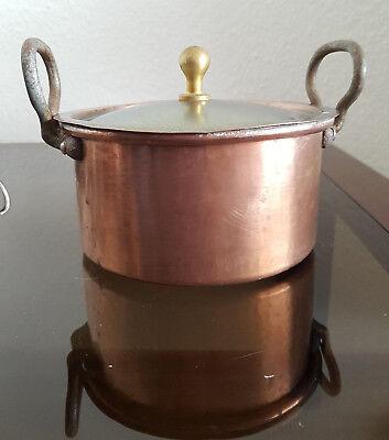 Zielsetzung Kupfertopf Kupfer Topf Eisen Griff D 17 Kochtopf Deckel Messing Um Eine Reibungslose üBertragung Zu GewäHrleisten