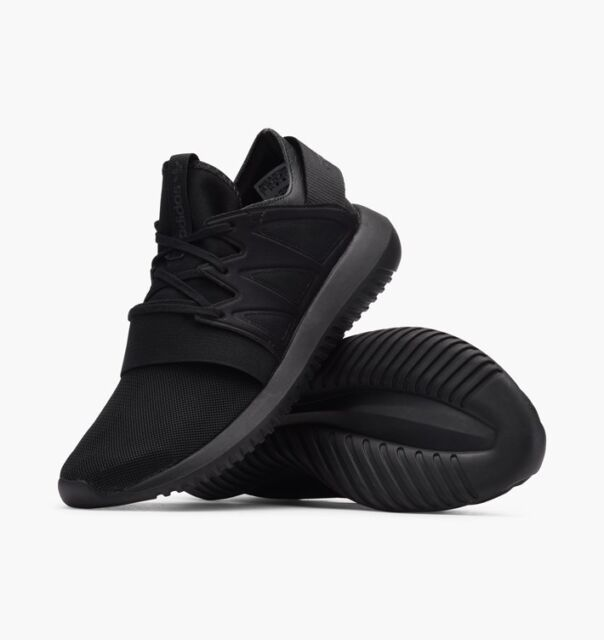 ADIDAS ORIGINALS TUBULAR VIRAL WOMENS TRAINERS TRIPLE BLACK UK SIZE 4 - 8