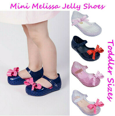 on feet images of buying new new products Baby Girls Shoes Mini Melissa MINI FURADINHA Girl Jelly Shoes NEW | eBay