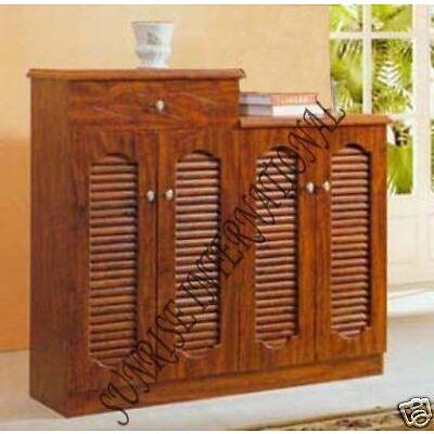 Home Furniture - Wooden Shoe Rack / Cabinet / Sideboard