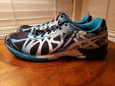 Asics Gel Noosa Tri 9 Mens Running Cross Training Shoes Size 13 T408N Navy blue   eBay