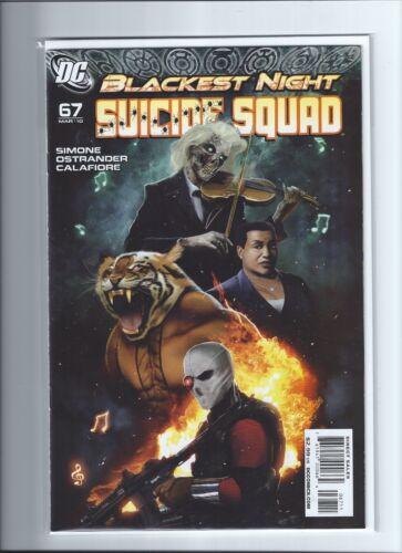 DC SUICIDE SQUAD #67 NM Blackest Night Final Issue DEADSHOT 1st App Homicide