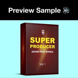 Details about Super Producer Drum Samples Sound Pack Bundle Trap Hip Hop  Rap Wav ⭐️⭐️⭐️⭐️⭐