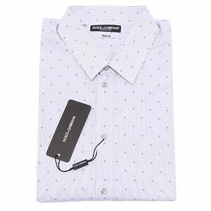 Martini Chemise Chemise Pour Hommes Dolce Gabbana Longues Hommes D 7578q Pour g Manches wUfXxqgw