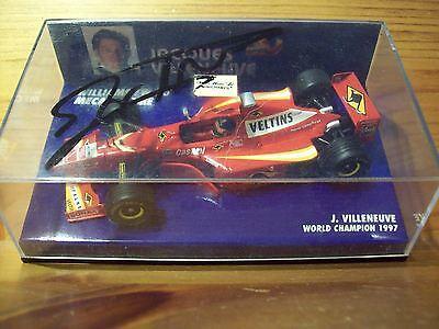 Analitico 1/43 Williams 1998 Mecachrome Fw20 Jacques Villeneuve Sr. Firmato Sul Coperchio-mostra Il Titolo Originale Garanzia Al 100%