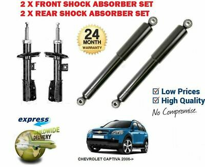 FIT NISSAN NOTE REAR 2 X SUSPENSION SHOCK ABSORBERS SHOCKERS NEW PAIR 2006-2014