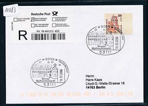 10083) Reco-lettre Ef 2,61 € Do. - Nom. Sst 2006 Bonn Marché De Noël-tfr-fr Afficher Le Titre D'origine