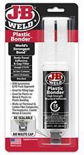 Glue Weld Plastic Quick Setting Epoxy Bonder Repair Body Panel Black 25 Ml New