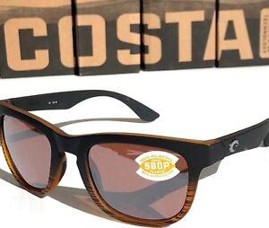 e2ccc8816e7 Image is loading NEW-Costa-COPRA-Black-Coconut-POLARIZED-SILVER-Mirror-