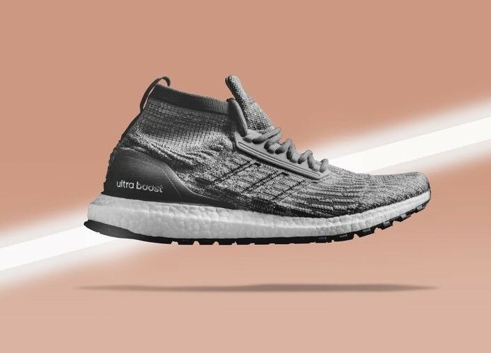 Adidas Ultra Boost All Terrain Triple Heather Grey 10.5 White Black CG3000 Mens 10.5 Grey 9459ee