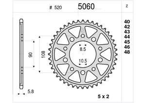 OGNIBENE-5060-CORONA-TRASMISSIONE-45-Z-P-520-MOTO-MORINI-KANGURO-350-1988