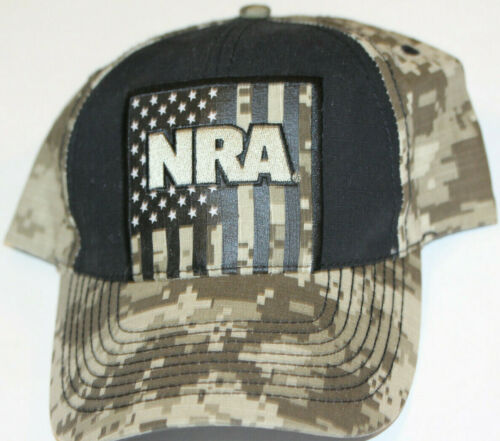 """*ADULT SIZE """"NRA"""" CAP WITH TAG--ADJUSTIBLE--NEVER"""