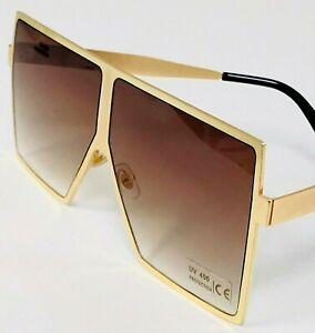 Aviator-XXL-Oversized-Square-Mach-Design-Flat-Top-Fashion-Sunglasses-Men-Women