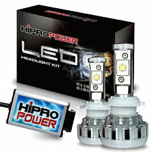9005 CREE XHP50 80W LED HEADLIGHT 2011 2012 2013 FORD FIESTA - HIGH BEAM