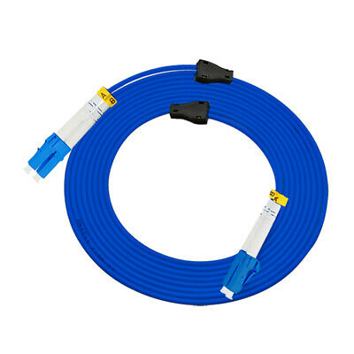 100Meters Armored LC to LC,50//125,Duplex,cable Fiber Patch Cord Jumper Multimode