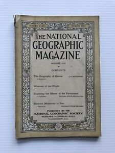National-Geographic-Magazine-August-1919-Weavers-Of-The-World
