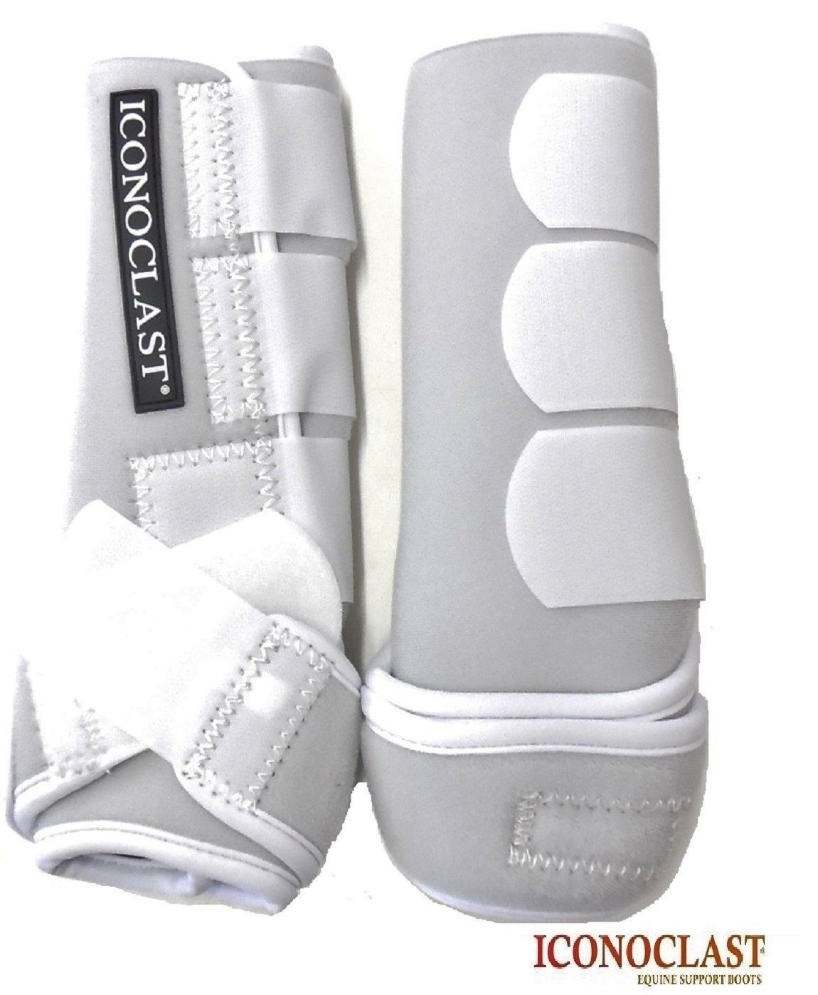 Iconoclast Orthopedic Sport Boots Hind Legs Large White New Free Shipping