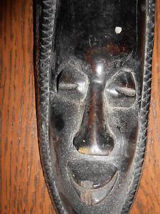 masque africain ebene