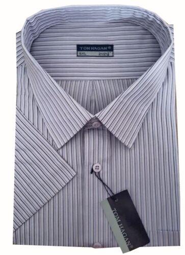 580 homme king size à rayures à manches courtes summer shirts 3XL 6XL par tom hagan