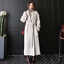 Chic Outwear Warm Wool Long Jacket New Overcoat Coat Parka Belt Cashmere Womens Xw1xqn8Uga