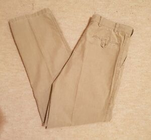 Mens-LAKELAND-100-Cotton-Trousers-Beige-Size-34-R-Immaculate-RRP-60