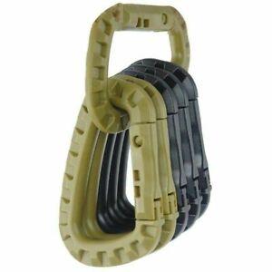 1-2-5-Stueck-Taktisch-Aussen-Karabiner-D-Schnalle-Plastik-Artikel-Sehr-Gute-ogzlx