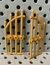Lego castle door gate in gold Lego