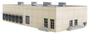 Modern Concrete Warehouse N Kit - Walthers Cornerstone #933-3862 vmf121
