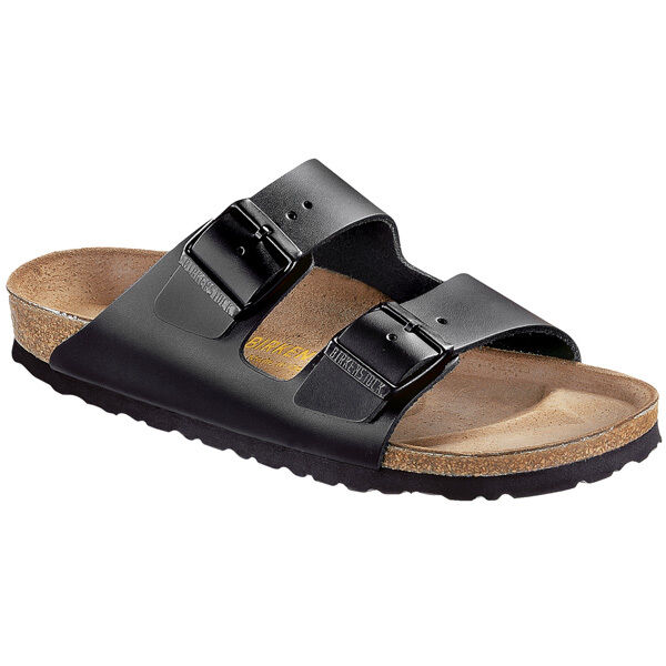 Birkenstock Arizona Glattleder Schuhe black schmal 051193 Sandalen Weite schmal black f61fd1