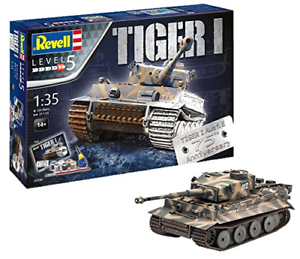 Revell-05790-75th-Anniversary-Tiger-1-Tank-Model-Gift-Set-Including-Paints