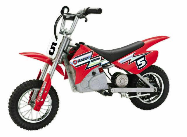 Razor Mx350 Dirt Rocket 24 Volt Electric Motorcycle Bike Red 15128095 For Sale Online Ebay