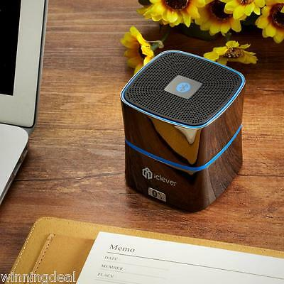 iClever® Bluetooth 4.0 Speakers Mini Portable Speaker/Zinc Alloy Shell For Phone