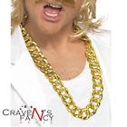 Chunky Gold Chain Necklace Gangster Lemon Mr T Rapper Bling BA Fancy Dress U