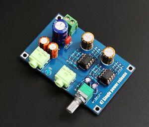 Single Power Supply DA47 Portable Headphone Amplifier PCB