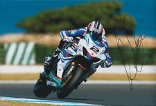 Leon CAMIER Superbike 12x8 SIGNED Suzuki Crescent FIXI Photo Autograph AFTAL COA