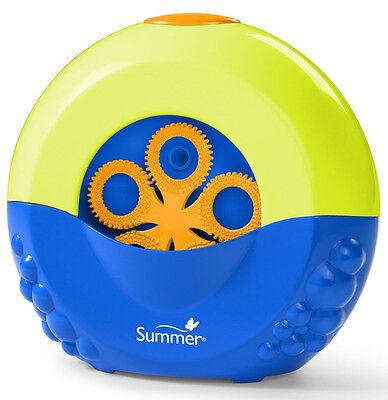 SUMMER INFANT BABY/TODDLER BUBBLE MAKER MACHINE  BATH TOY / BATHTIME BRAND NEW