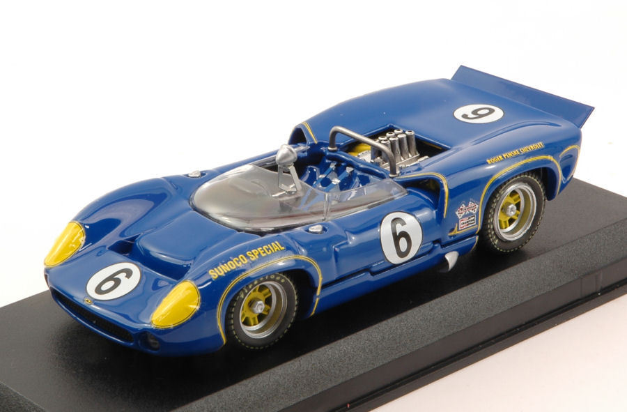Lola t 70 mk2  6 winner can  am mosport 1966 mark donohue 1 43 model Beste models  grande remise