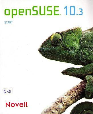 """100% Wahr Betriebssystem """"opensuse 10.3"""", Gebraucht (_719) Durchsichtig In Sicht"""