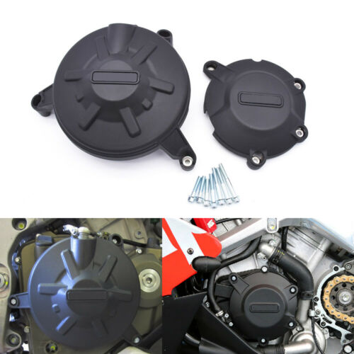 For Aprilia RSV4 R RR RF APRC Engine Guard Protectors Racing Engine Cover Set