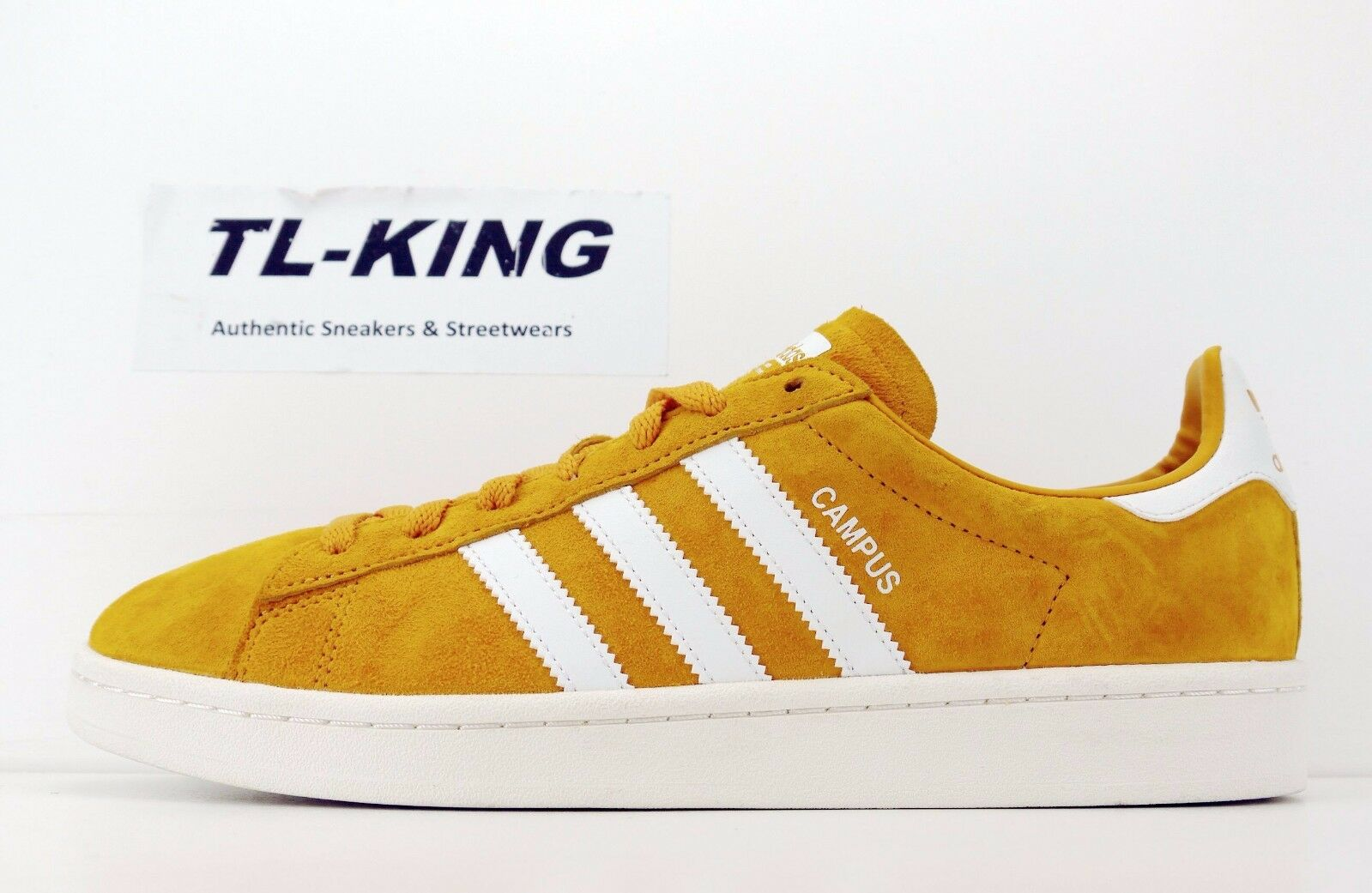 Adidas Originals Campus tiza amarillo blanco tactil blanco tiza Campus bz0088 GT 5cea49