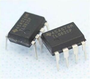10pcs-TL082-Ti-DIP8-Jfet-Input-Operational-Amplifier