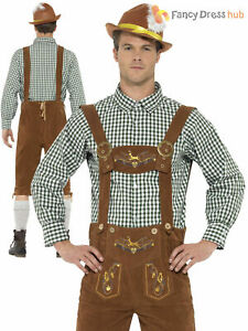 Disfraz de hombre alemán-Adulto Sofisticado Vestido Oktoberfest Cerveza Bávara país para hombre