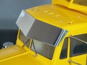 LESU GW K021 Tamiya RC 1//14 King Hauler Tractor Truck Aluminum Metal Sun Visor