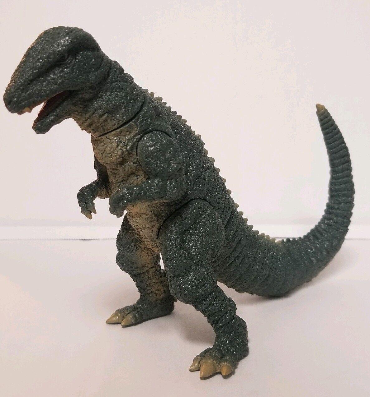 Godzilla Y-MSF GOpinkURUS 6 inch figure rare GREEN OPEN mouth version