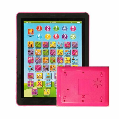 Child Touch Type Computer Tablet English Learning Study Machine Toy Nice Gift