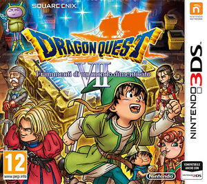Dragon Quest 7 VII Frammenti di un Mondo Dimenticato Nintendo 3DS IT IMPORT