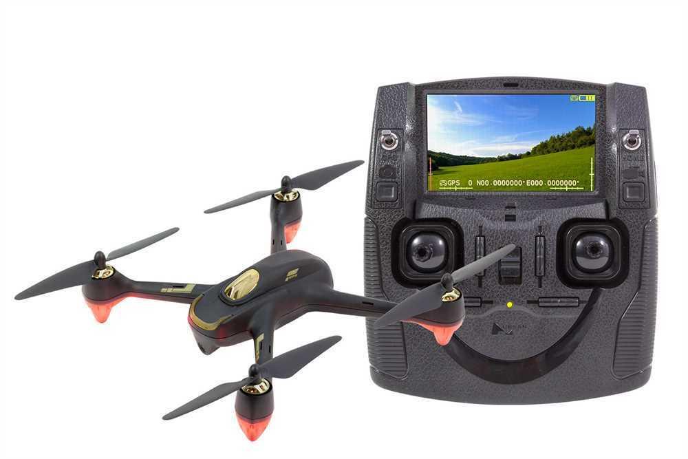 Hubsan x4 FPV brushless quadrocopter negro-RTF-robot con HD-cámara - 150300