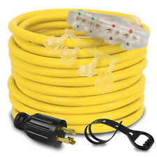 10awg L14 30p To 5 20r Generator Adapter Extension Cord Generator Cable 25 Feet